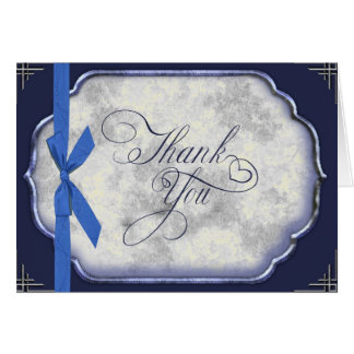 El boda azul de Love Story le agradece Felicitacion
