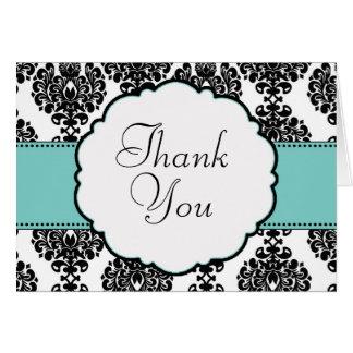 El boda azul del huevo del petirrojo le agradece c tarjeta de felicitación