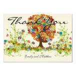 El boda caprichoso del árbol de la flor le invitación
