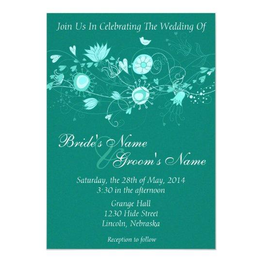 "El boda caprichoso del trullo invita invitación 5"" x 7"""
