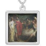 El boda de Alexander el grande y el Roxana Collar Personalizado
