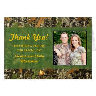 El boda de Camo le agradece las tarjetas