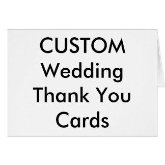"""El boda de encargo le agradece carda 5,6"""" x 4"""" tarjeta pequeña"""
