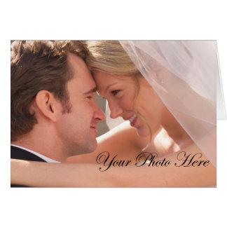 El boda de encargo le agradece las tarjetas