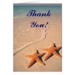 El boda de las estrellas de mar y de playa le agra felicitaciones
