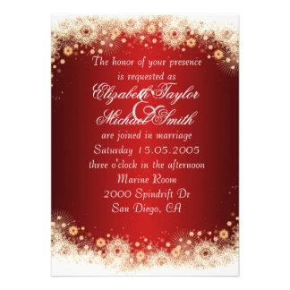 El boda de lujo del cordón del navidad del oro inv