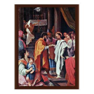 El boda de Maria de Ludovico Carracci (la mejor ca Postal