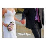 El boda de novia y del novio le agradece cardar tarjeton