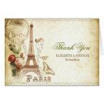 El boda de PARÍS le agradece las tarjetas