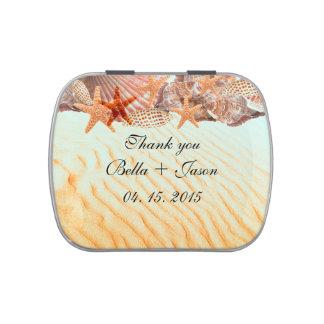 El boda de playa del Seashell favorece seashell5 Frascos De Dulces
