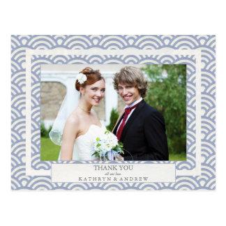 El boda de Seigaiha del japonés agradece le/la Tarjetas Postales