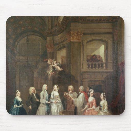 El boda de Stephen Beckingham y de Maria $cox Alfombrillas De Raton