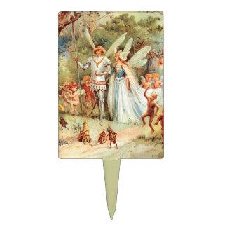 El boda de Thumbelina en el bosque Palillos De Tarta