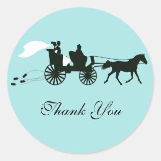 El boda del caballo y del carro le agradece los pe