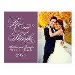 El boda del ciruelo del amor y de las gracias el | tarjeta postal