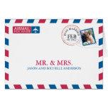 El boda del correo aéreo le agradece felicitaciones