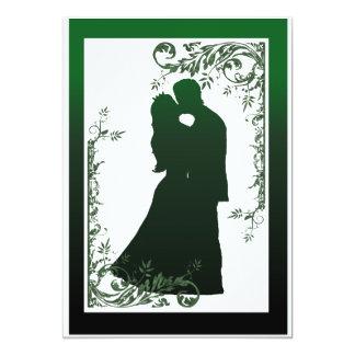 El boda del cuento de hadas invita - a verde comunicados personalizados