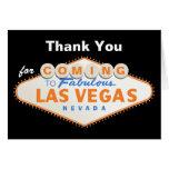 El boda del destino de la muestra de Las Vegas le Felicitación