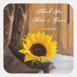 El boda del girasol del país le agradece los pegat