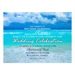 El boda del océano fijó 1 - invitación