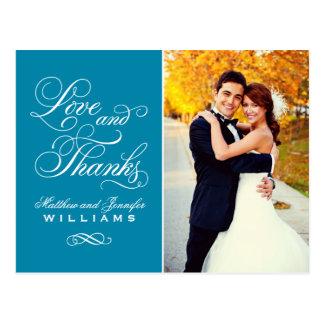 El boda del trullo del amor y de las gracias el | postal