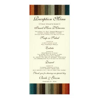 El boda del vintage, otoño caliente raya el modelo diseño de tarjeta publicitaria