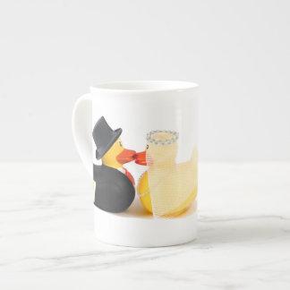 El boda ducks 2… tazas de cerámica tazas de china