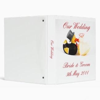 """El boda ducks… el álbum de foto carpeta 1"""""""