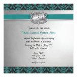 El boda elegante del trullo y de la plata invita -