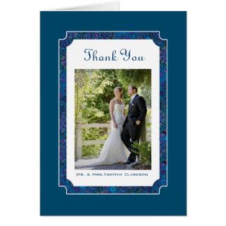 El boda feliz del ciruelo le agradece tarjeta de