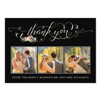 """El boda floral del jardín le agradece las tarjetas invitación 5"""" x 7"""""""