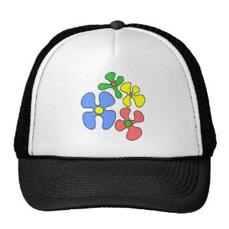 El boda florece el gorra/el casquillo gorras de camionero