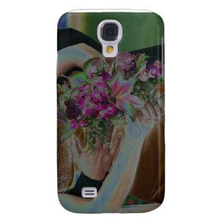 El boda florece las manos Solarized Funda Para Galaxy S4