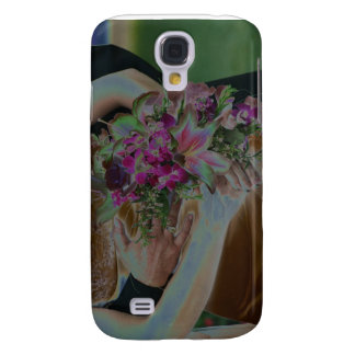 El boda florece las manos Solarized Samsung Galaxy S4 Cover