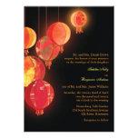 El boda formal moderno de las linternas rojas chin comunicado