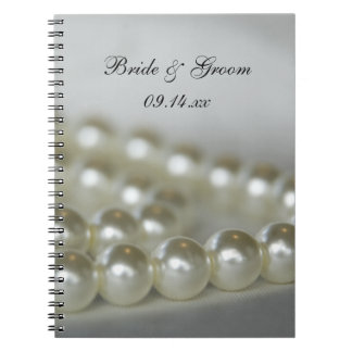 El boda gotea el cuaderno espiral