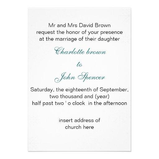 el boda gris del invierno del copo de nieve de la  invitación