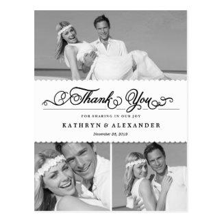 El boda horneado a la crema y con pan rallado tarjetas postales
