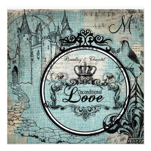 El boda incondicional cruzado azul del amor de Cri Anuncios