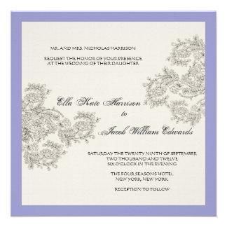 El boda inspirado vintage adaptable invita invitacion personal
