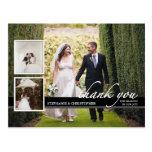 El boda intemporal de la foto de la moda tres le a tarjetas postales