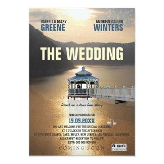 El boda invitación 12,7 x 17,8 cm