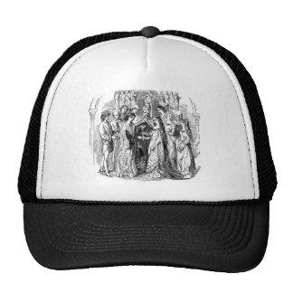 El boda isabelino, real gorra