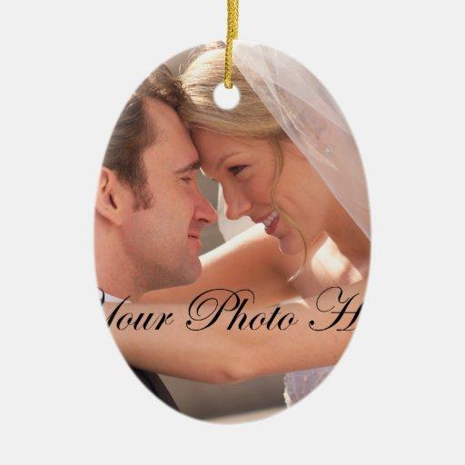 El boda junta el ornamento ornamento de navidad