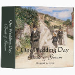 El boda marzo, Robinson, impresionismo del vintage Carpeta 5 Cm