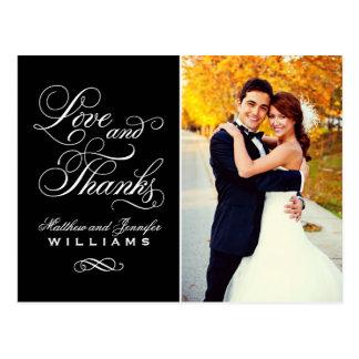 El boda negro del amor y de las gracias el | le postal