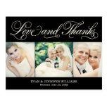 El boda negro del amor y de las gracias el | le tarjeta postal