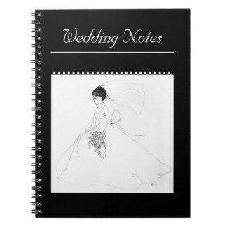 """El """"boda observa"""" el cuaderno"""