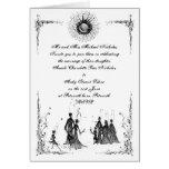 El boda pagano invita tarjeta de felicitación
