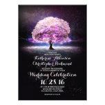 el boda púrpura de la secuencia del árbol romántic